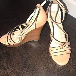 Seychelles strappy wedge sandal